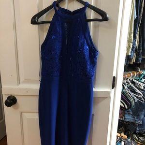 Royal blue formal dress size 6